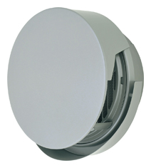 【AT-300TCWSJ】 メルコエアテック 外壁用(ステンレス製) 丸形防風板付ベントキャップ(覆い付・ワイド水切タイプ)|縦ギャラリ・網(75~200タイプ)横ギャラリ・網(250・300タイプ) 【AT300TCWSJ】 【代引き不可】