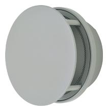 【AT-300TUNS】 メルコエアテック 外壁用(ステンレス製) 丸形防風板付ベントキャップ 網 【AT300TUNS】 【代引き不可】