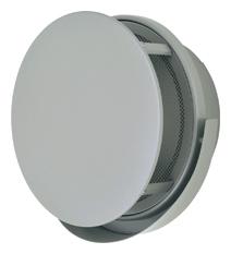 AT-300TUNSJ メルコエアテック 外壁用 (ステンレス製) 丸形防風板付ベントキャップ (ワイド水切タイプ) |網 AT300TUNSJ [代引不可]