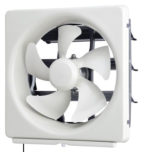 標準換気扇メタルコンパック スタンダード 連動式 三菱 換気扇 EX-20LMP8 OUTLET SALE スタンダードタイプ メタルコンパック 旧品番:EX-20LMP7 台所用 標準換気扇 実物