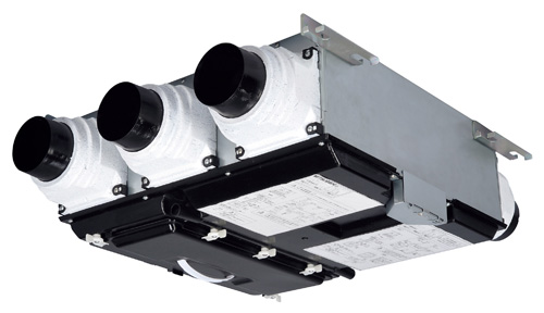 三菱 換気扇 【VL-10CZ3-R】 換気扇・ロスナイ 24時間換気システム(熱交換) 天井埋込型・標準タイプ