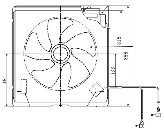 三菱 換気扇 EX-25EFM7 標準換気扇 メタルコンパック ワンタッチフィルタータイプ EX-25EFM6の後継品 台所用・再生形 MITSUBISHI 販売形名C:535D59