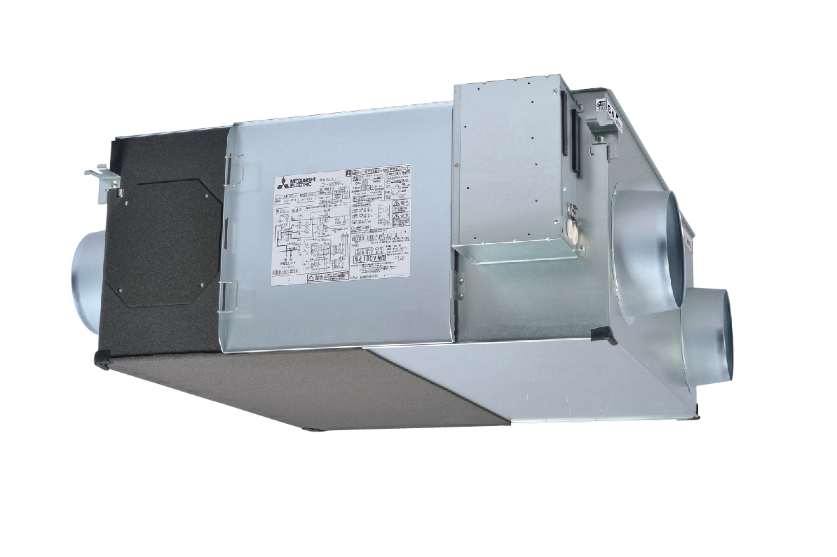 【LGH-N65RX2D】 三菱[MITSUBISHI] 業務用ロスナイ [本体]業務用 天井埋込形 換気扇