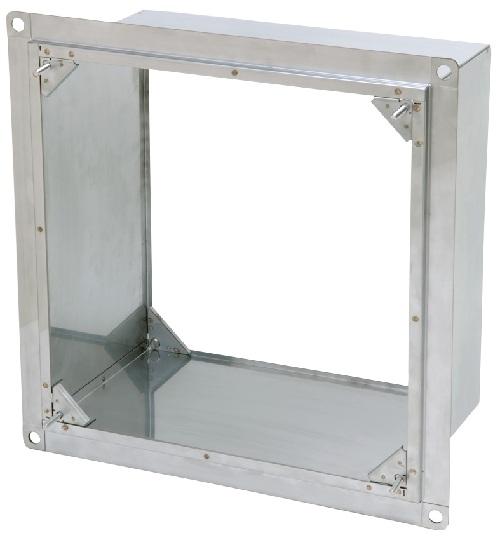 三菱 換気扇 有圧換気扇システム部材 業務用有圧換気扇用薄壁取付枠 PS-20UW
