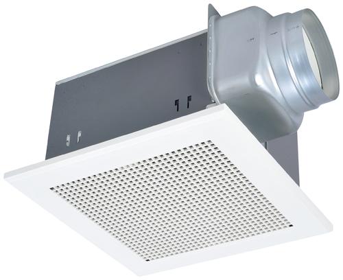 三菱 VD-18ZB10 ダクト用換気扇 天井埋込形 低騒音形[旧品番:VD-18ZB9] 換気扇・ロスナイ[本体] 高密閉風圧式シャッター