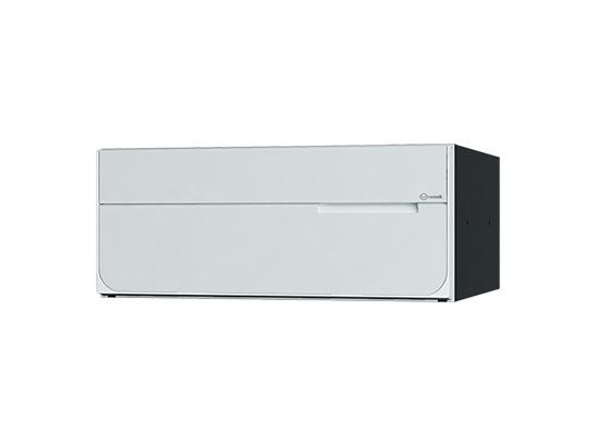 【KS-MB7102PY-PK-W】 NASTA[ナスタ] ポスト ポスト W360×H150/前入後出/屋内タイプ 可変プッシュボタン錠 ホワイト 受注生産品納期7営業日程度
