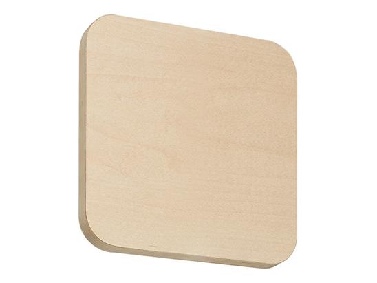 【エントリーで全品5倍ポイント・最大27倍P】【KS-TS-FH1515W-H】 NASTA[ナスタ] 表示・サイン サインプレート 木製/平付タイプ 受注生産品【8/4 20:00~8/9 1:59まで】