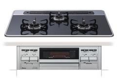 【PD-N57WV-75】paloma ビルトインコンロ セレクションシリーズ シルバーフェイス ハイパーガラスコートトップ 75cm[新品]