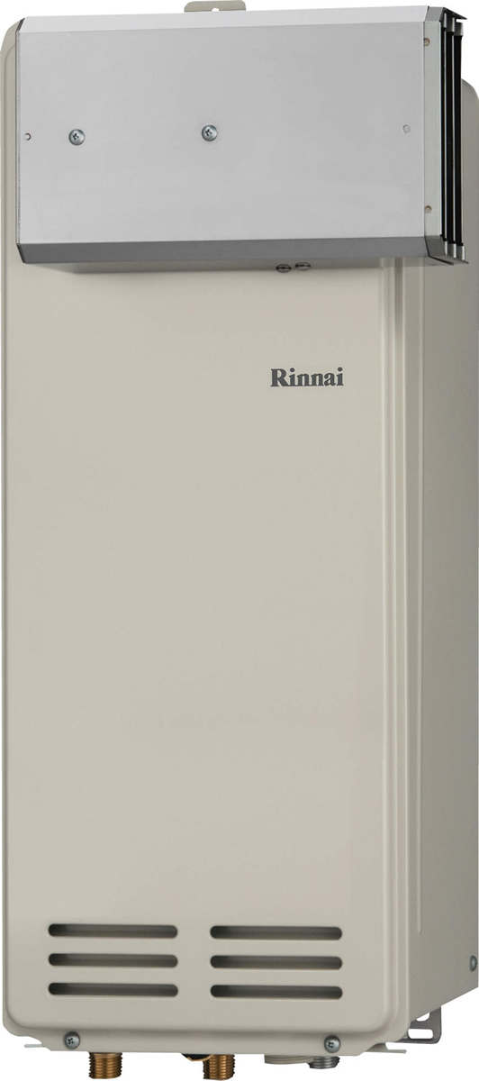 Rinnai [リンナイ] ガス給湯器 RUX-VS1606A (A) ガス給湯専用機 16号 ふろ機能:給湯専用 BL有 接続口径:20A 設置:アルコーブ 品名コード:23-0735