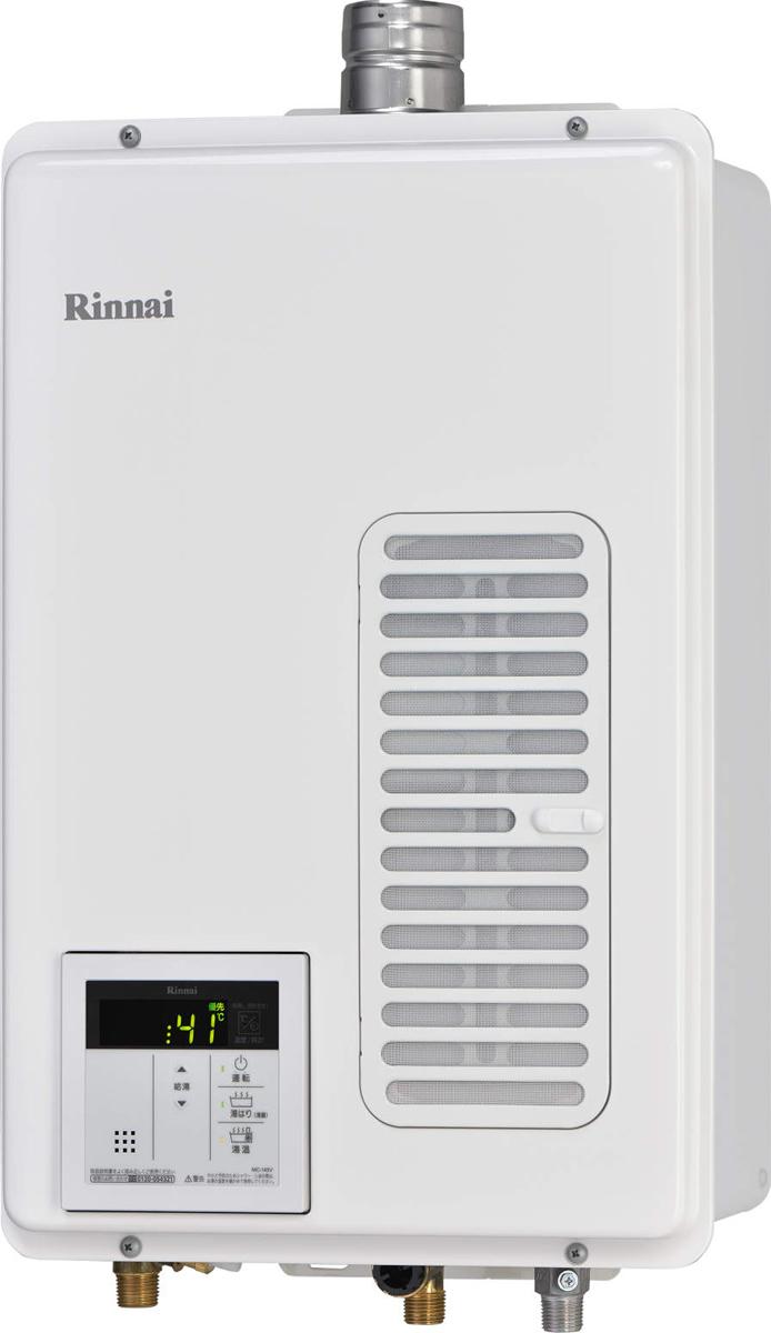リンナイ ガス給湯器 RUX-V1615SWFA(A)-E ガス給湯専用機 16号 ふろ機能 給湯専用 BL無 接続口径 15A 設置 FE 品名コード:23-1111 FE式給湯器