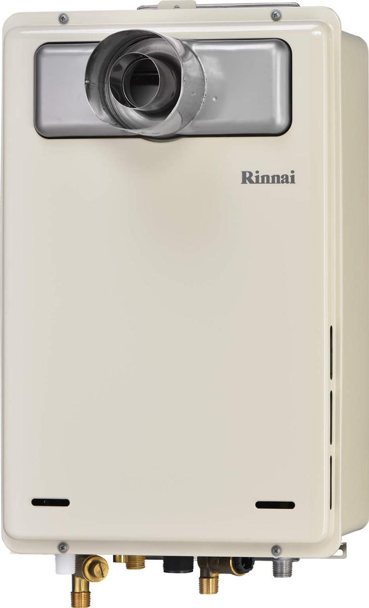 Rinnai[リンナイ] ガス給湯器 RUJ-A2010T-L 高温水供給式タイプ 20号 ふろ機能:高温水供給式 BL有 接続口径:15A 設置:扉内延長 品名コード:23-9618