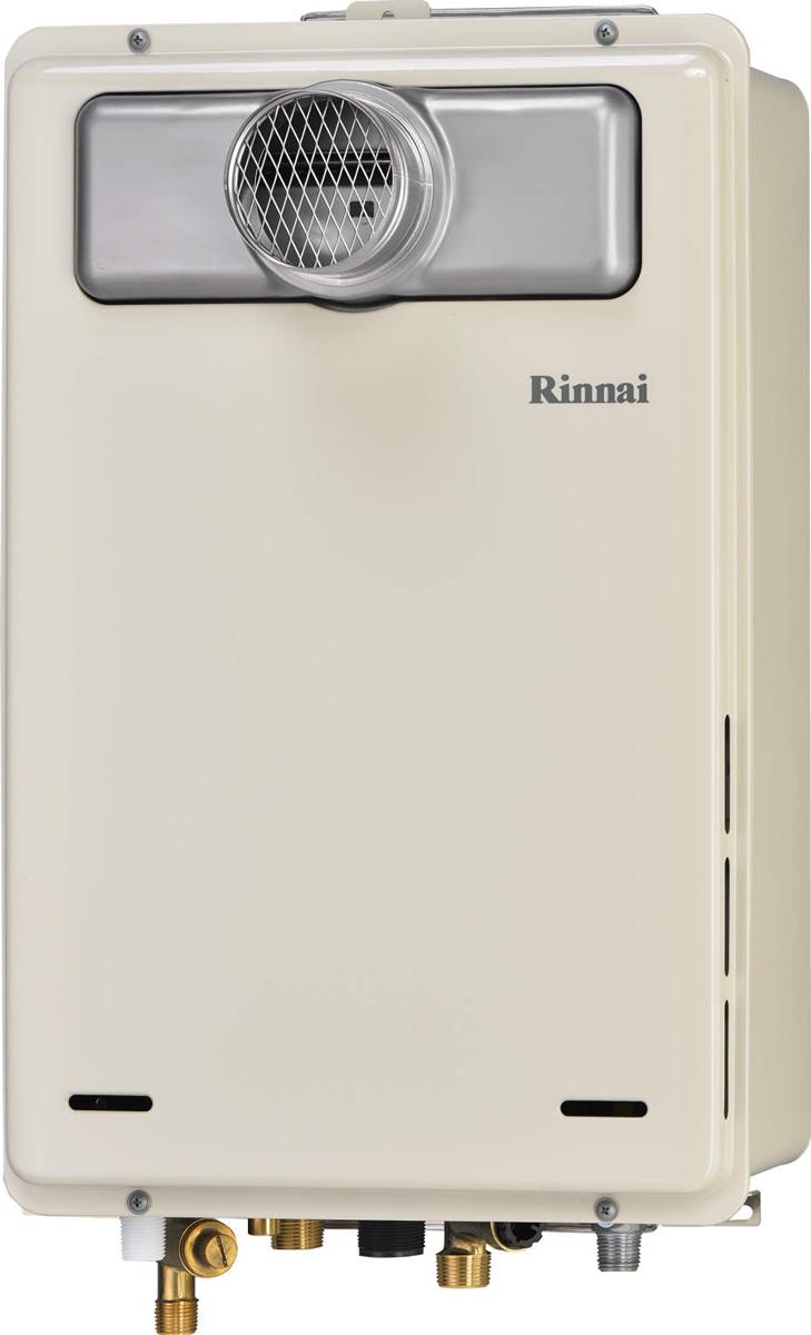 Rinnai[リンナイ] ガス給湯器 RUJ-A2000T-L-80 高温水供給式タイプ 20号 ふろ機能:高温水供給式 BL有 接続口径:20A 設置:φ80延長 品名コード:23-9693