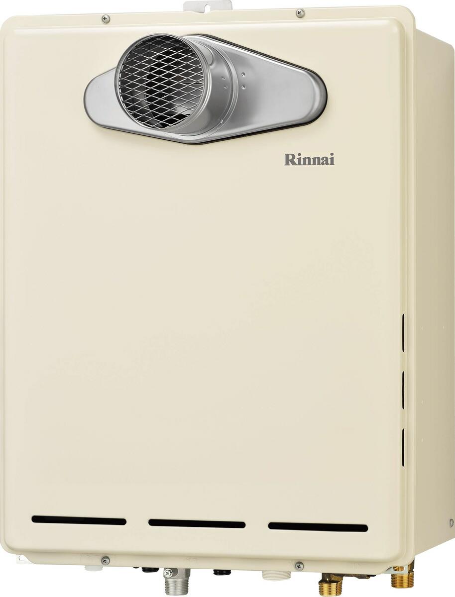 Rinnai[リンナイ] ガス給湯器 RUF-A1615SAT(B) ガスふろ給湯器 設置フリータイプ 16号 ふろ機能:セミオート 接続口径:15A 設置:扉内 品名コード:24-0852