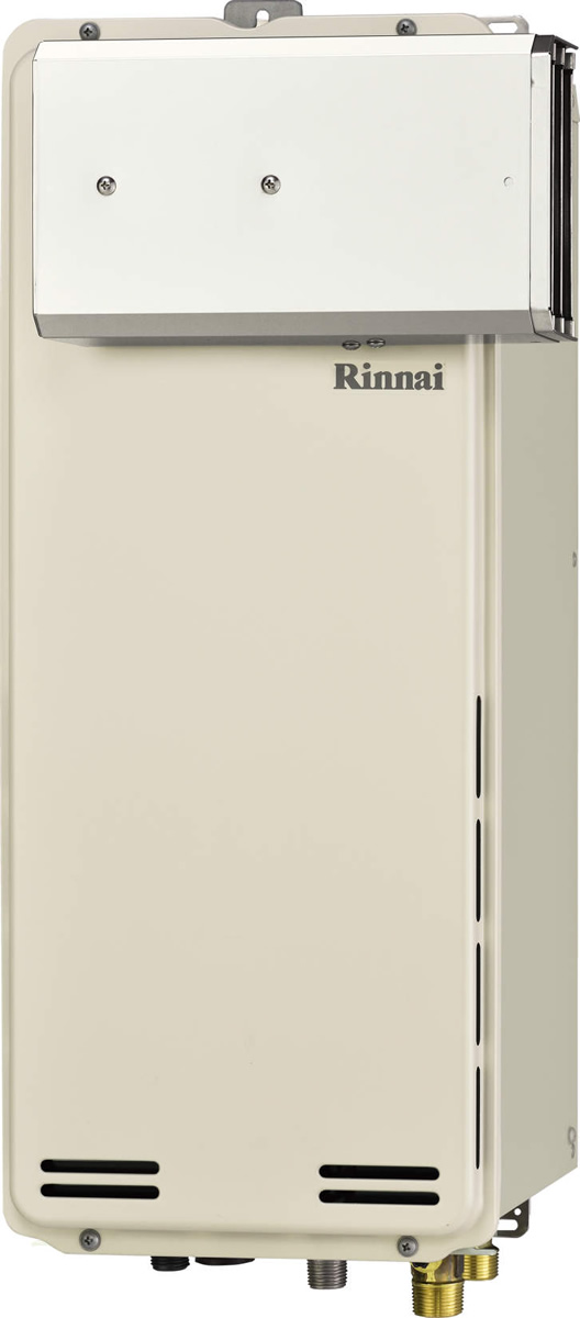 Rinnai[リンナイ] ガス給湯器 RUF-SA1605SAA ガスふろ給湯器 設置フリータイプ 16号 ふろ機能:セミオート 接続口径:20A 設置:アルコーブ 品名コード:24-0117