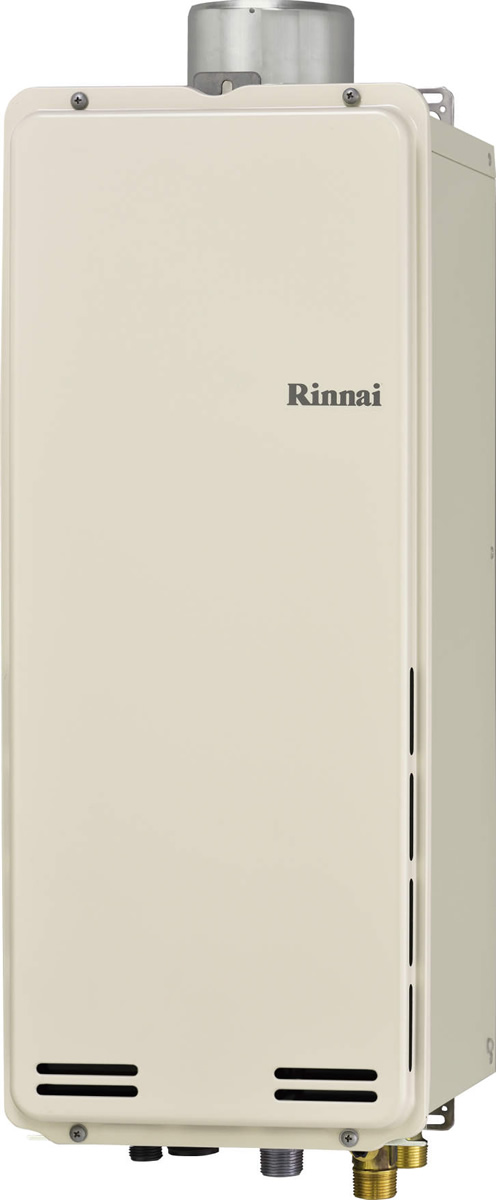 Rinnai[リンナイ] ガス給湯器 RUF-SA1615AU ガスふろ給湯器 設置フリータイプ 16号 ふろ機能:フルオート 接続口径:15A 設置:上方 品名コード:24-0168