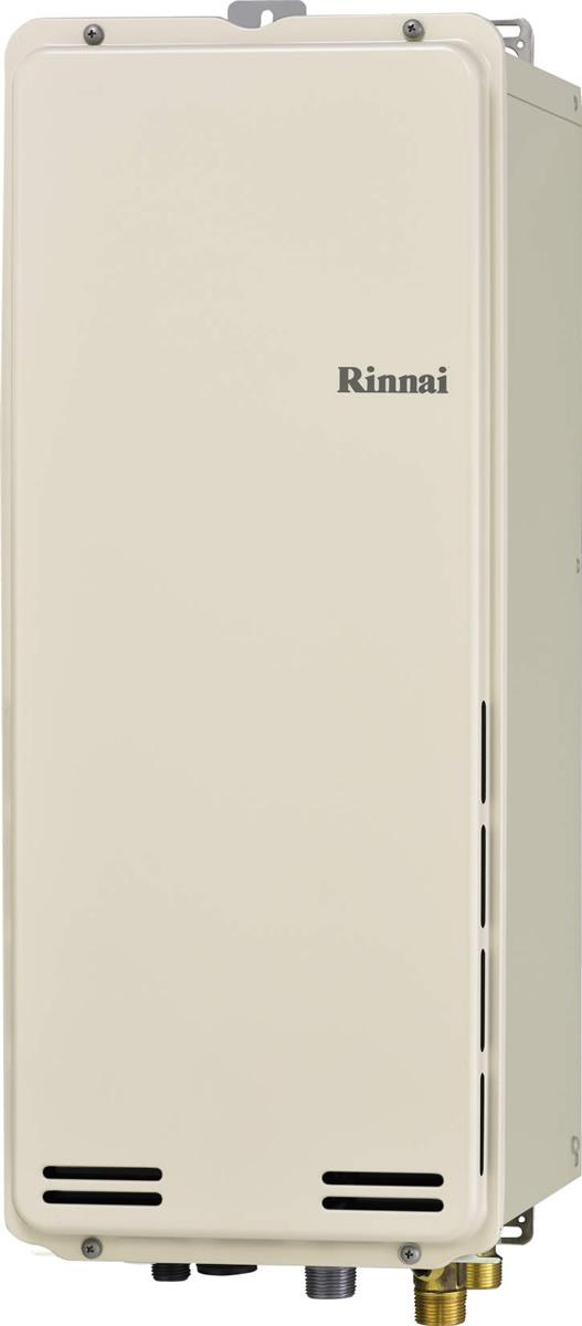 Rinnai[リンナイ] ガス給湯器 RUF-SA1605AB ガスふろ給湯器 設置フリータイプ 16号 ふろ機能:フルオート 接続口径:20A 設置:後方 品名コード:24-0184