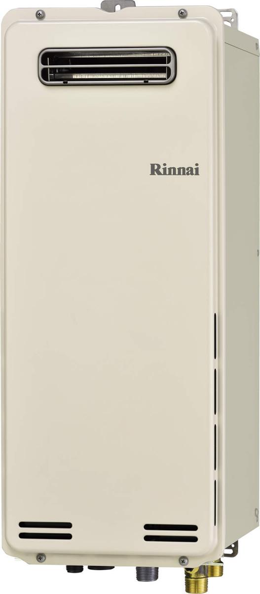 Rinnai[リンナイ] ガス給湯器 RUF-SA1615SAW ガスふろ給湯器 設置フリータイプ 16号 ふろ機能:セミオート 接続口径:15A 設置:標準 品名コード:24-9961