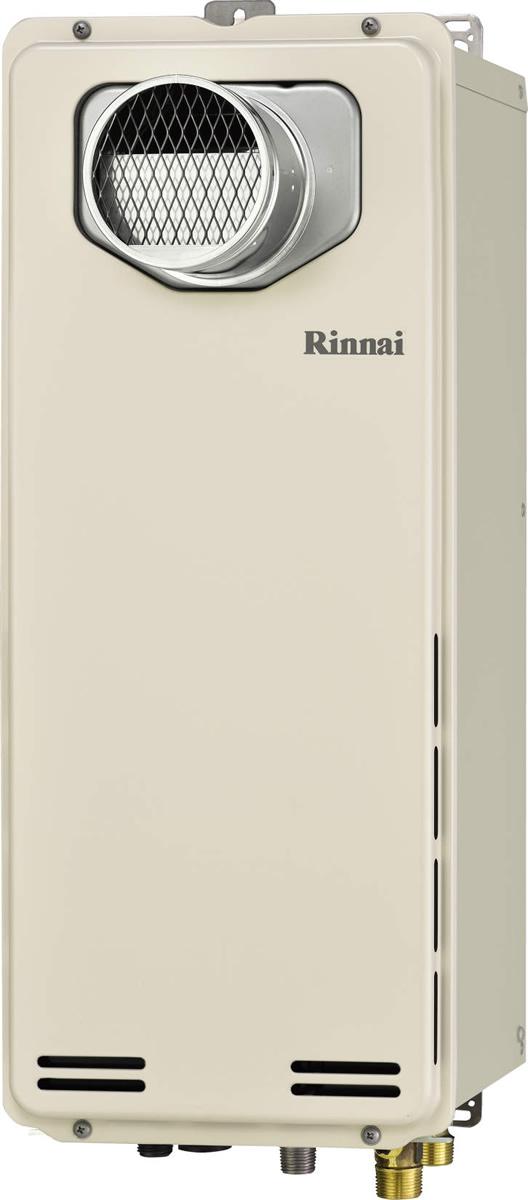 Rinnai[リンナイ] ガス給湯器 RUF-SA1615AT ガスふろ給湯器 設置フリータイプ 16号 ふろ機能:フルオート 接続口径:15A 設置:扉内 品名コード:24-9996