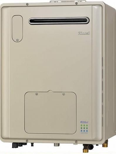 リンナイ ガス給湯暖房用熱源機 20号 【RVD-E2001SAW2-1】【RVDE2001SAW2-1】 ecoジョーズ オート 浴槽隣接設置タイプ 屋外据置型 給湯器【沖縄・北海道・離島は送料別途】
