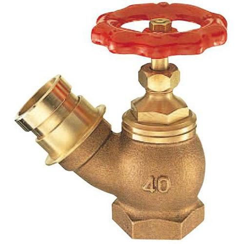 【三栄水栓】ガーデニング 消火栓 差込45°消火栓 【V18-65】