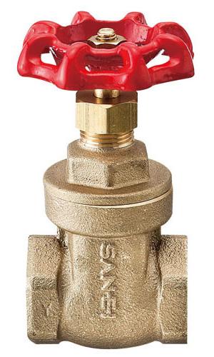 【三栄水栓】止水栓・バルブ ゲートバルブ 【V35-75】【水栓 サンエイ】