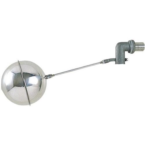 【三栄水栓】トイレ用品 ボールタップ 横形ステンレスボールタップ 【V435-13】【沖縄・北海道・離島は送料別途】
