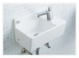 ジャニス Janis 【L353】デザイン洗面 手洗器 ラインシリーズ 洗面器 コンパクトライン 壁掛手洗い器 単品