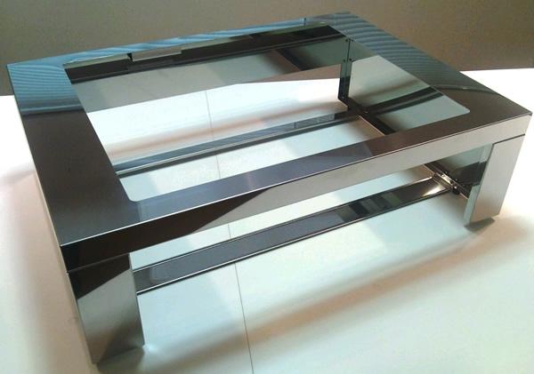 三菱 IHクッキングヒーター部材 【CS-Z75WAKU】 ビルトインタイプを台に置く為の枠。幅75センチ用 【CSZ75WAKU】