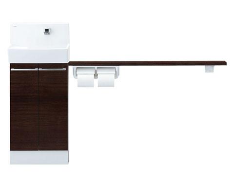 【YL-DA83SKA15E】コフレル 【YLDA83SKA15E】1500 トイレ手洗 ワイド(壁付) 自動水栓 カウンター キャビネットタイプ(左右共通) INAX ・LIXIL・リクシル【メーカー直送】【代引不可】
