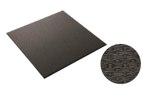 大建工業 DAIKEN 床材 YQ5412-3 12栗色 880×880mm 小波 (さざなみ) 畳風床材 ここち和座 敷き込みタイプ 3枚入り [自分でかんたん施工、DIY]