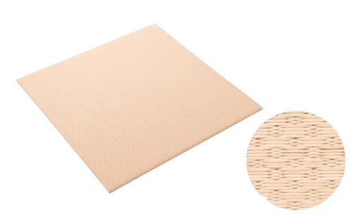 大建工業 DAIKEN 床材 YQ5415-2 15白茶色 880×880mm 小波 (さざなみ) 畳風床材 ここち和座 敷き込みタイプ 2枚入り [自分でかんたん施工、DIY]