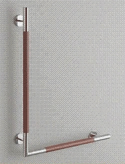 TOTO トイレ アクセサリー インテリア・バー (コンテンポラリタイプ) YHR86WR・YHR86WL 天然木タイプ L型