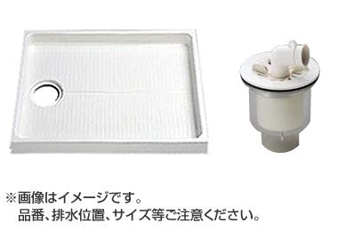 TOTO セット品番 PWSP80G2W 洗濯機パン [PWP800N2W] サイズ800+縦引トラップ [PJ002]