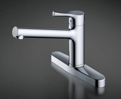 TOTO キッチン用水栓金具 TKS05310J GGシリーズ 台付シングル混合水栓 一般地・寒冷地共用 TOTO [トートー]