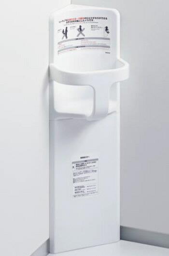 TOTO ベビーチェア【YKA16】 コーナー設置タイプ 300×315×950 樹脂製 耐荷重:294N カラー:ホワイト トイレ チャイルドシート