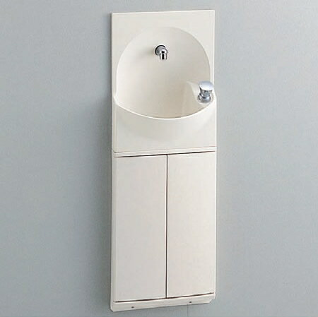 TOTO トイレ 手洗器付キャビネット 【YSC46SX#NW1】(ホワイト) ハンドル式水栓タイプ【沖縄・北海道・離島は送料別途】