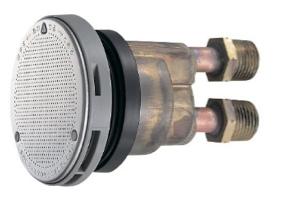 TLA-SF 風呂循環金具LS兼用型 (金属ボディー) オンネジ式S ケースロット:10個 東ア