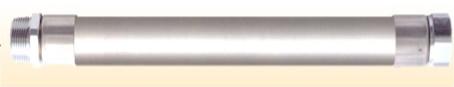CHOB-10-400 LPガス燃焼器ホース (鋼線入り) 10φ用X400mm ケースロット:20本 東ア