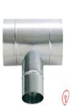SD200T 空調用部材. ステンスパイラル部品 T管 200φX200φX200φ ケースロット:10個 東ア