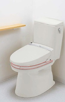 INAX イナックス LIXIL・リクシル トイレ シャワートイレ付補高便座 Kシリーズ K45 フルオート便器洗浄付 アメージュZタンク用 30mm【CWA-230K45C】 50mm【CWA-250K45C】