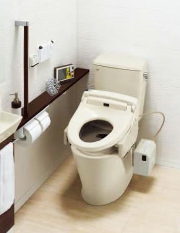 床排水 (フチレス) トイレ シャワートイレセット INAX ECO5 [メーカー直送][代引不可][後払い決済不可] HBC-ZA10S アメージュZ便器 タンク LIXIL DT-ZA150EN 便器