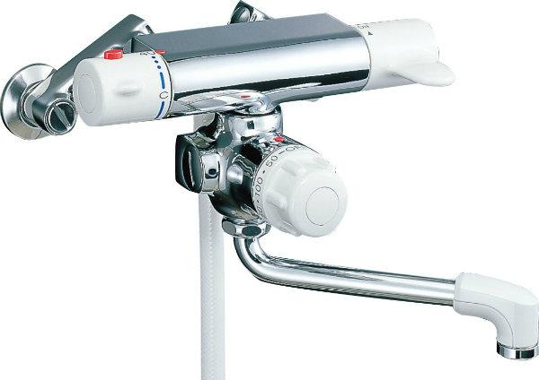 INAX LIXIL・リクシル 浴室用水栓金具 シャワーバス水栓浴槽・洗い場兼用 サーモスタット付シャワーバス水栓エコフルスプレーシャワー ミーティス【BF-M140TNSD】【BFM140TNSD】