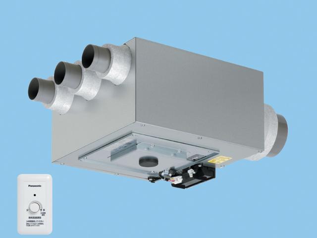 気調システム FY-12KED1 集中 2X4住宅対応 集中気調 小口径セントラル換気システム セントラル換気ファン 天井埋込形 2×4住宅対応 吸込み4箇所用 パナソニック 気調システム