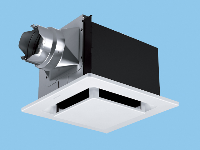 パナソニック 換気扇 FY-24FP7 天埋 (鋼板) ルーバーセット・フラット 排気 低騒音形 鋼板製本体 ルーバーセットタイプ (フラットパネル形) 埋込寸法:240mm角 適用パイプ径:φ100mm