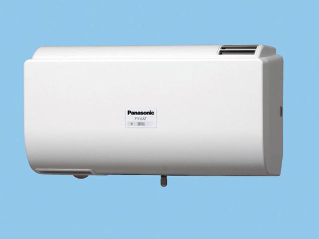 パナソニック 換気扇 FY-6AT-W Q-hiファン自動運転形 (6畳用) 同時給排タイプ 壁掛形 〈室内外温度差による自動運転形〉 6畳用 色:クリスタルホワイト