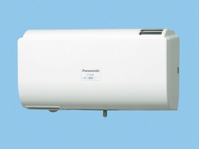 パナソニック 換気扇【FY-8AT-W】 Q-hiファン自動運転形(8畳用) 同時給排タイプ 壁掛形 〈室内外温度差による自動運転形〉 8畳用 色:クリスタルホワイト[新品]