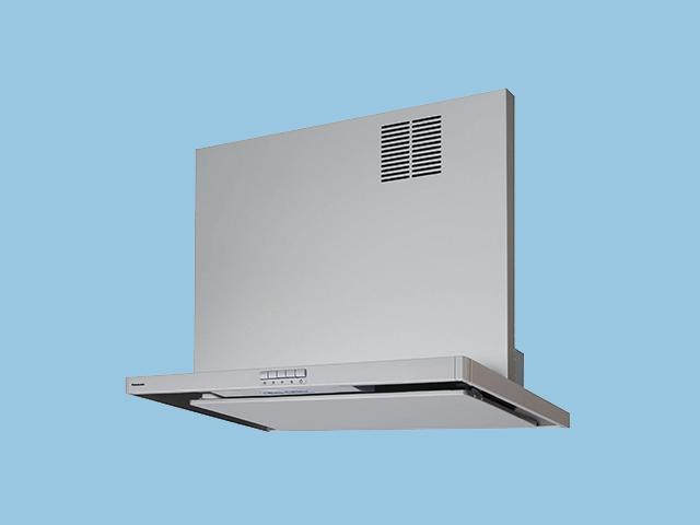 パナソニック 換気扇 【FY-MSH756D-S】 75cm スマートスクエアフード用同時給排ユニット 対応吊戸棚高さ60cm レンジフード部材(画像の本体は別売り、前幕板は付いています)