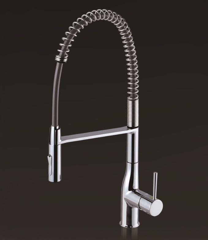 【KM6211EC】KVK ケーブイケー 流し台用シングルレバー式シャワー混合栓