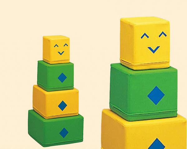 KP-022 カクロボ 積み上げて遊ぶソフトブロック 幼児用遊び場 室内遊具 コンビウィズ株式会社 KP022 [メーカー直送][代引不可]