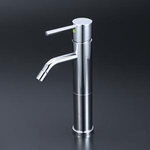 【LFM612EC108】KVK ケーブイケー 洗面用シングルレバー混合栓 Eレバー ロングボディ